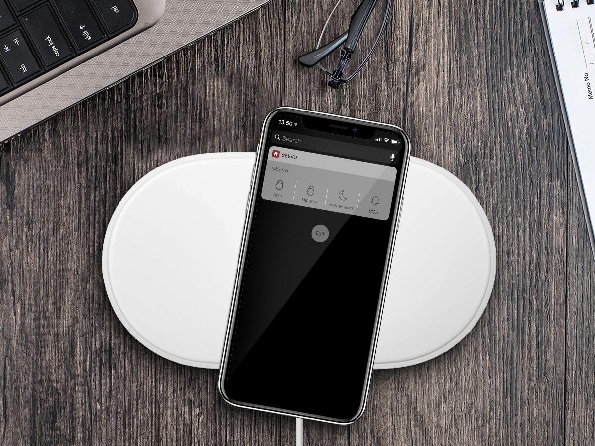 iOS® Widget på vej - SikkertHjem™ Scandinavia