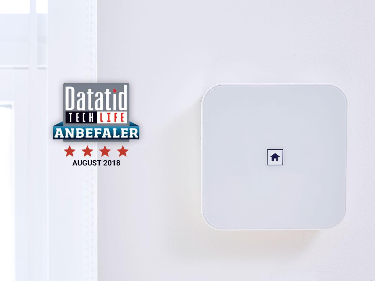 SikkertHjem™ S6evo™ Alarm- og Smarthome system testet af Datatid TechLife