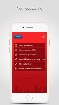 SikkertHjem™ S5-Touch App - Nem opsætning