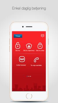 SikkertHjem™ S5-Touch App - Enkelt daglig betjening